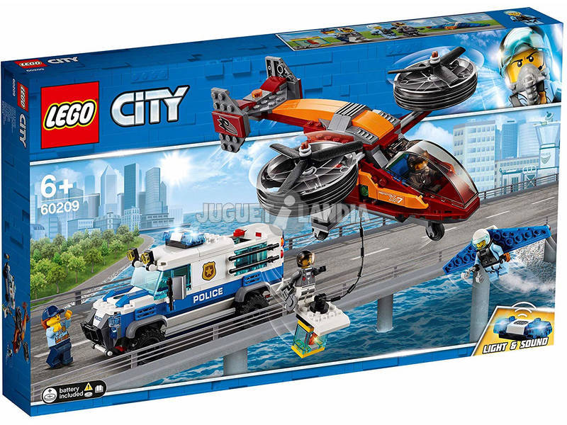 Lego City Police Aérienne Vol du Diamant 60209