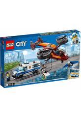 imagen Lego City Policía Aérea Robo del Diamante 60209