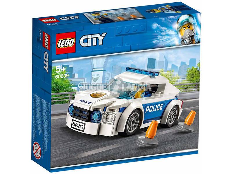 Lego City Policía Coche Patrulla de la Policía 60239