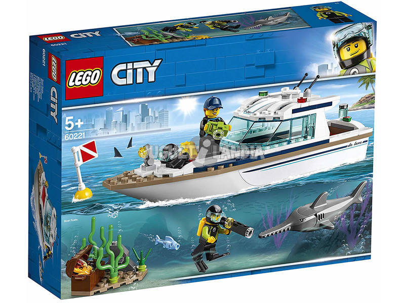 Lego City Iate de Mergulho 60221