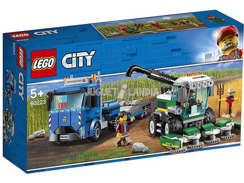 Lego City Transporte da Colheitadeira 60223