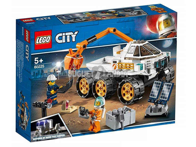 Lego City Space Port Prova de Condução do Rover 60225