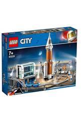 imagen Lego City Space Port Cohete Espacial de Larga Distancia y Centro de Control 60228