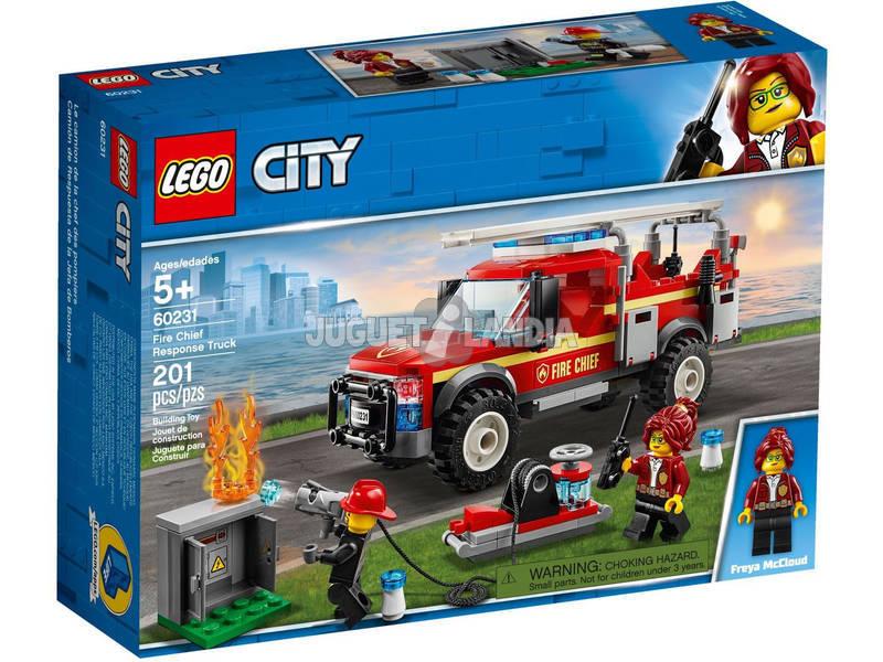Lego City Camión de Intervención del Jefe de Bomberos 60231
