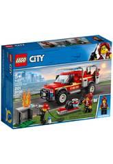 imagen Lego City Camión de Intervención del Jefe de Bomberos 60231