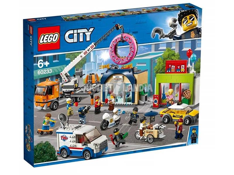 Lego City Inauguración de la Tienda de Donuts 60233