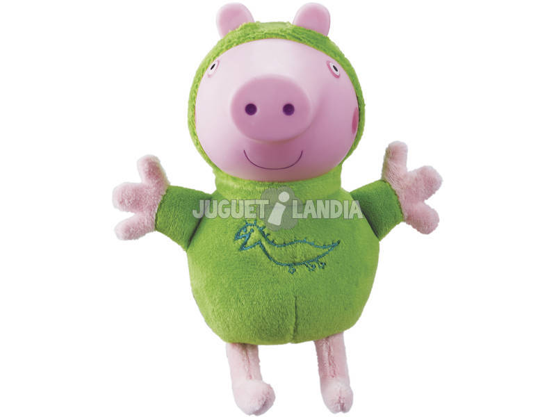 Peluche Con Luz Peppa Pig Glow Friends Bandai 6887