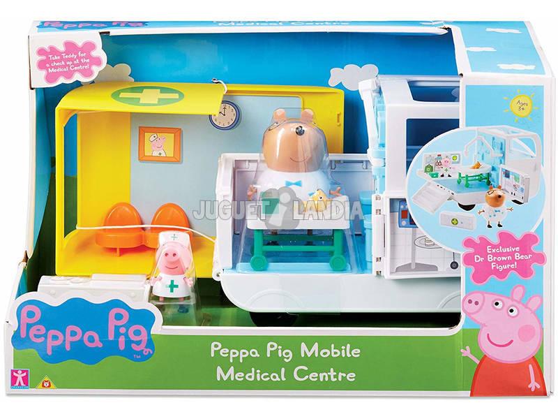 Peppa Pig Ambulância e Centro Médico Bandai 6722