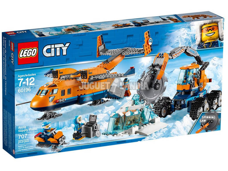 Lego City Arctique Avion de Su-ministres 60196
