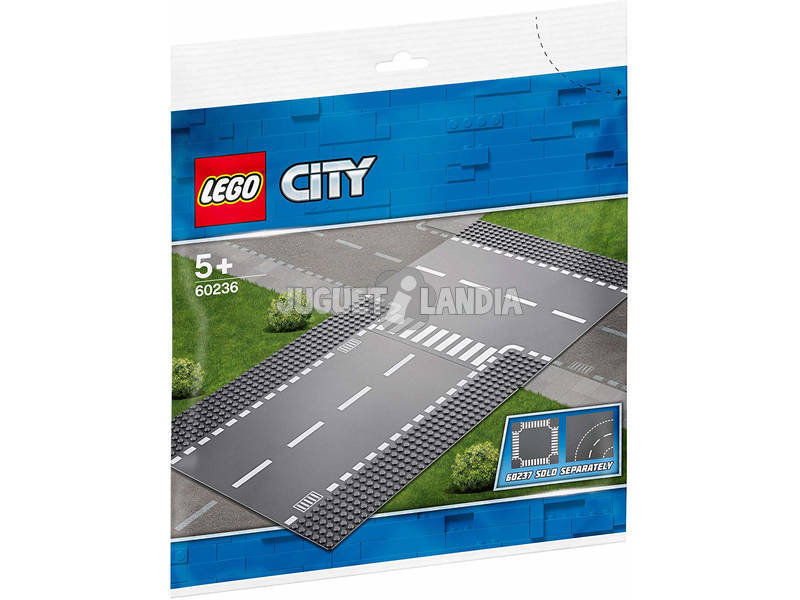 Lego City Rettilineo e incrocio a T 60236