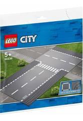 imagen Lego City Recta e Intersección en T 60236