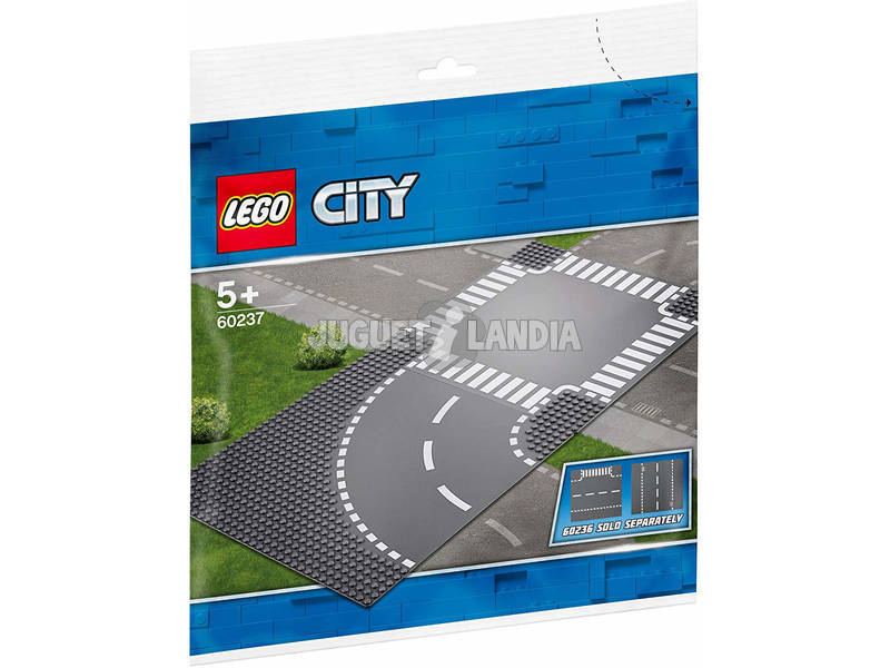 Lego City Virage et Carrefour 60237