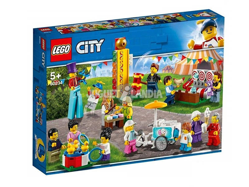 Lego City Pack de Mini figuras Feira 60234