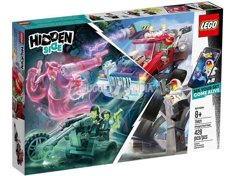 Lego Hidden Caminhão Acrobático de El Fuego 70421
