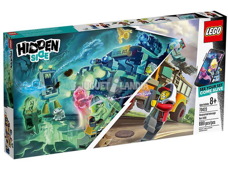Lego Hidden Autocarro de Intercepção 70423