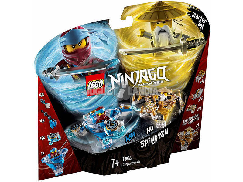 Lego Ninjago Spinjitzu Nya vs. Wu 70663