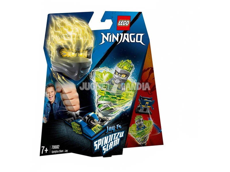Lego Ninjago Slam Spinjitzu - Jay 70682