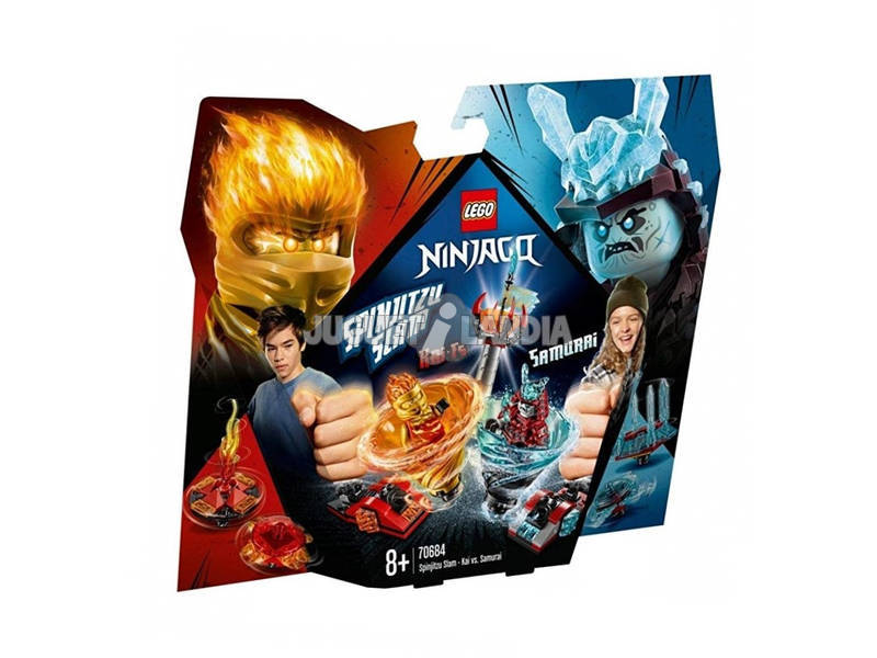 Lego Ninjago Spinjitzu Slam Kai vs. Samurai 70684