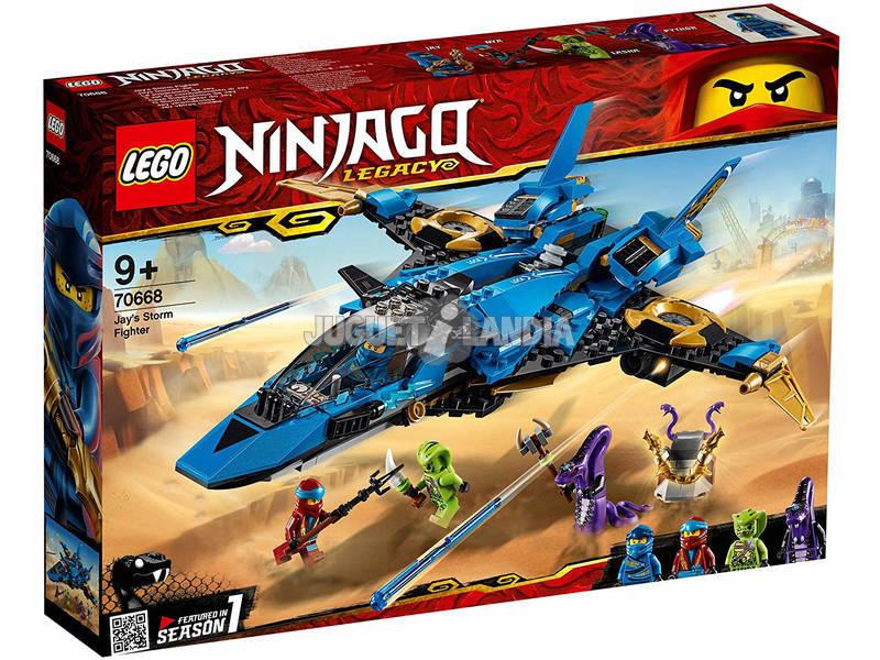 Lego Ninjago Jay Caça Supersônica 70668