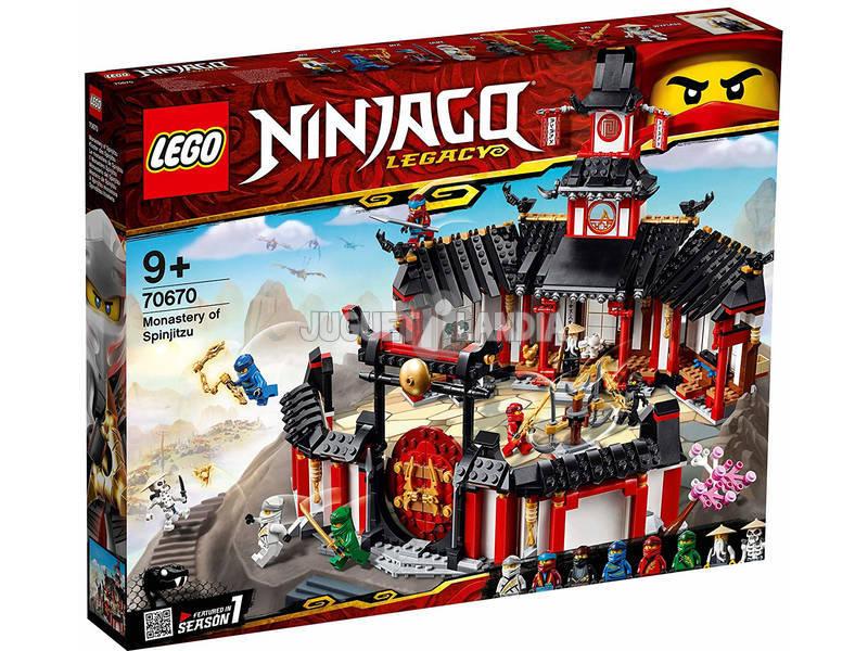 Lego Ninjago Monasterio del Spinjitzu 70670