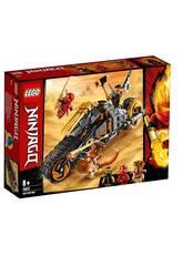 imagen Lego Ninjago Moto Todoterreno de Cole 70672