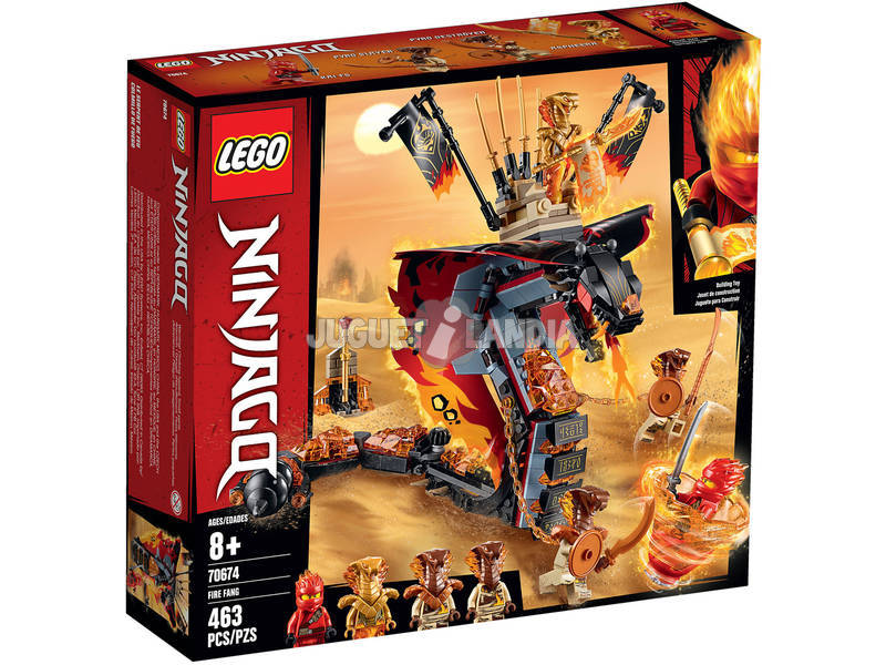 Lego Ninjago Colmillo de Fuego 70674
