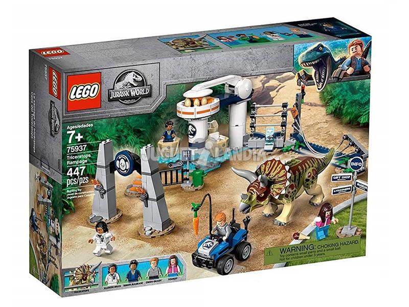 Lego Jurassic World Caos do Triceratops 75937