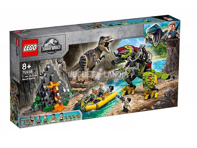 Lego Jurassic World T.Rex Vs Dinossauro Robótico