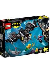 imagen Lego Super Heroes Batsubmarino de Batman y el Combate Bajo el Agua 76116