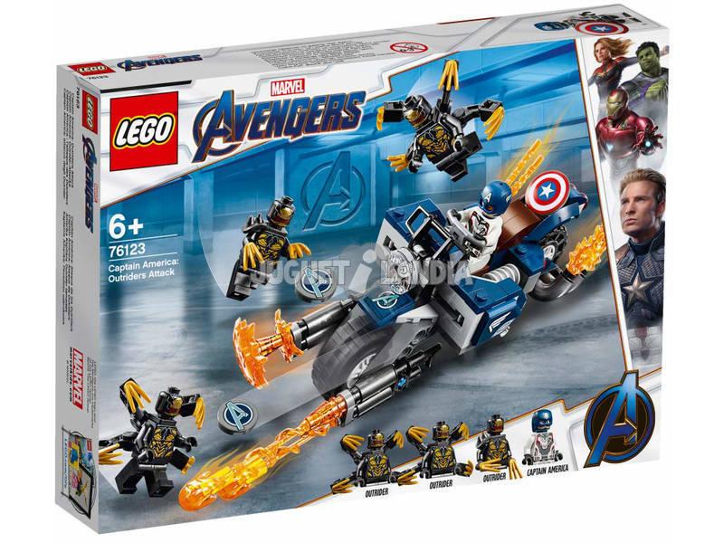 Marvel Super Heroes Captain America: attacco degli Outrider Lego 76123