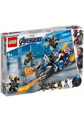Lego Super Heroes Avengers Captain America: Attacke der Outriders 76123