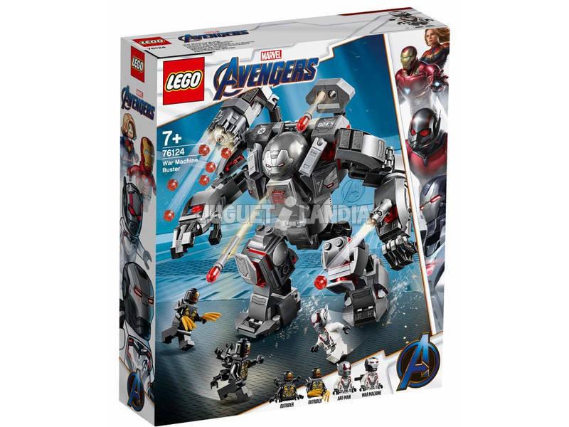 Lego Super Heróis Avengers Predador de War Machine 76124