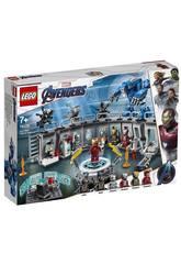 Lego Súper Héroes Avengers Iron Man Sala de Armaduras 76125