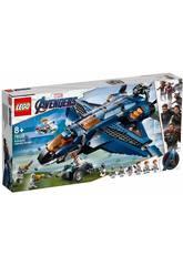 Lego Super Heroes Avengers Quinjet Définitif 76126