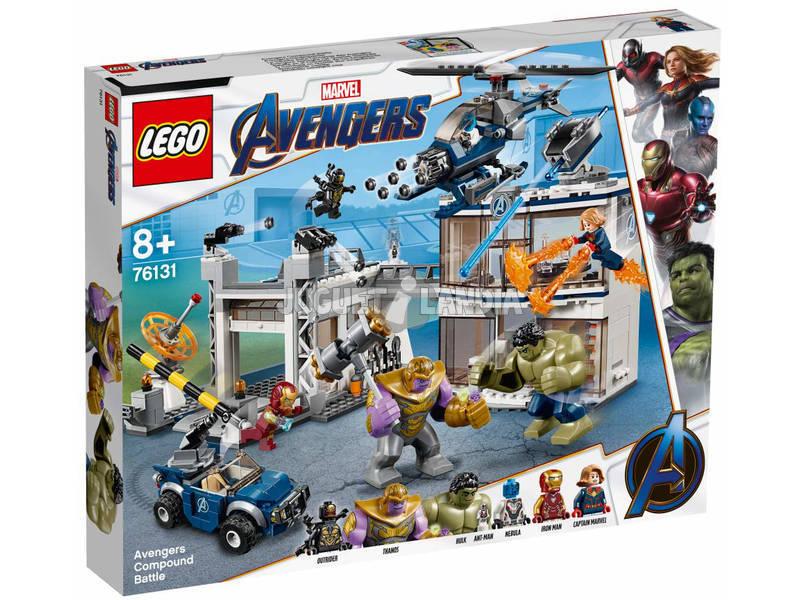 Marvel Super Heroes Avengers: battaglia nel Quartier Generale 76131