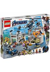 Lego Super Heroes Avengers Batalha no Complexo 76131