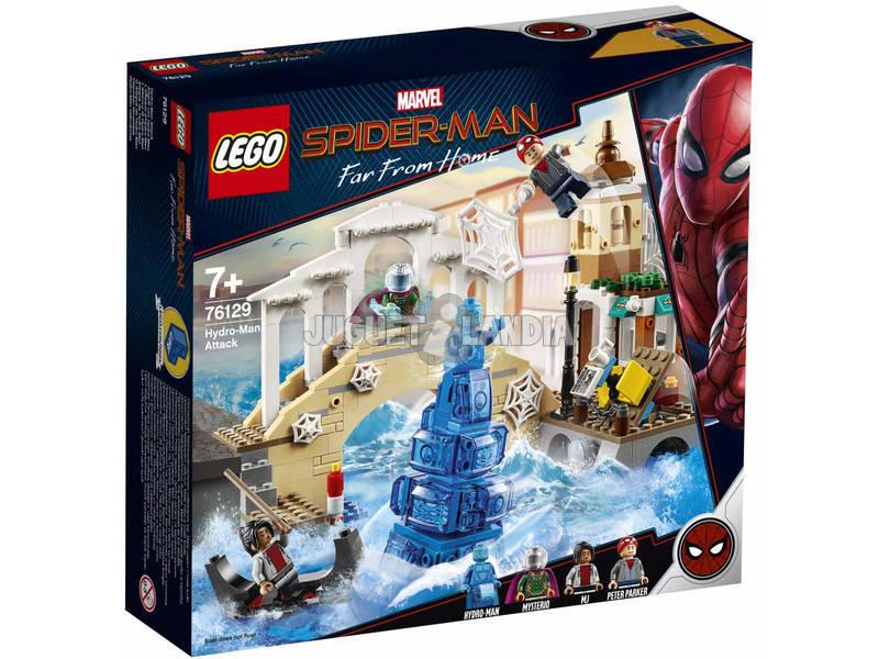 Lego Súper Héroes Spiderman Far From Home Ataque de Hydroman 76129