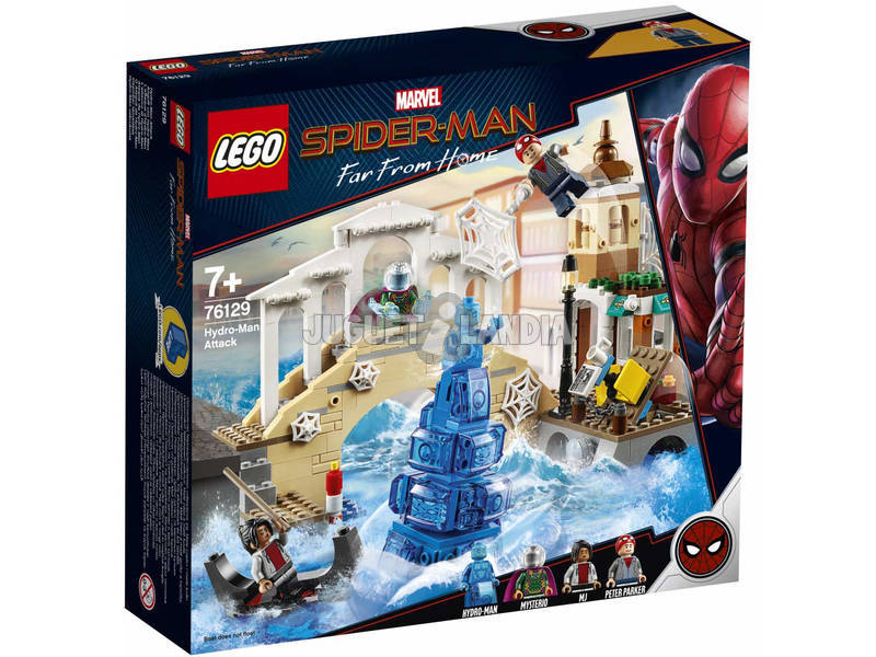Lego Hydro-Man Attack Spirder-man Far From Home 76129