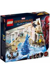 Lego Super Heroes Spiderman Far From Home Attaque de Hydroman 76129