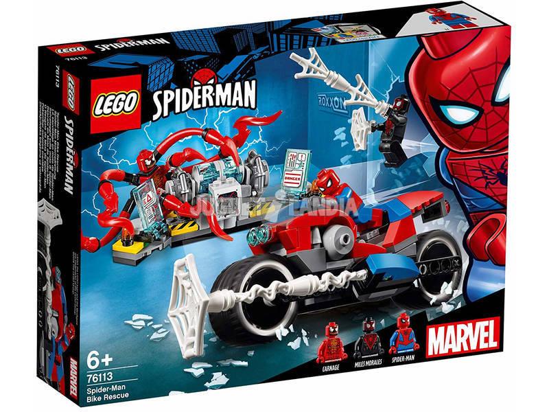 Lego Spider-Man Bike Rescue (Mota Resgate) 76113