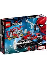 imagen Lego Super Heroes Rescate en Moto de Spiderman 76113