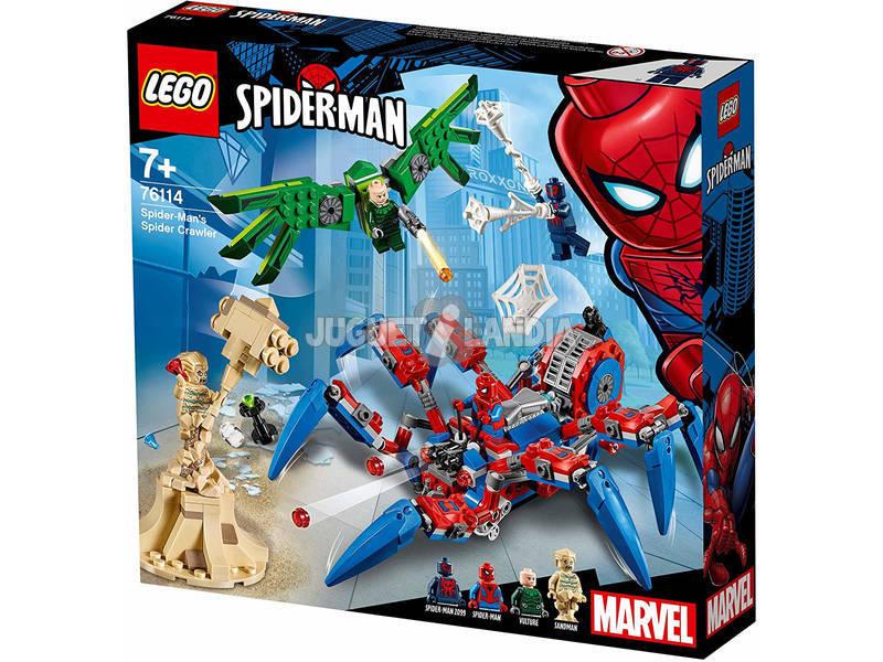 Lego Spider-Man's Spider Crawler 76114