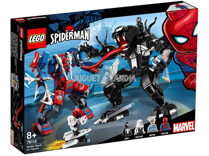 Lego Marvel Super Heroes Mech di Spider-Man vs. Venom 76115