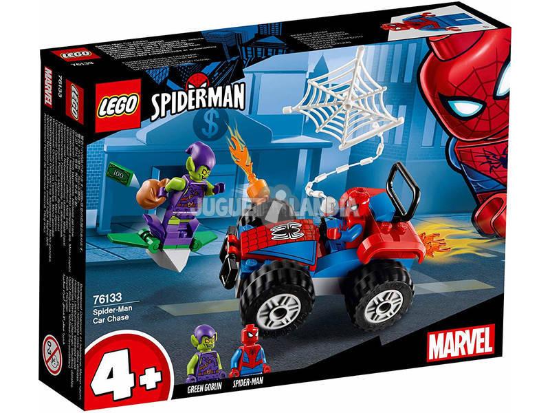 Lego Super Heroes Persecução em Carro de Spiderman 76133