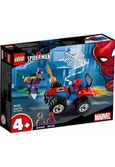 imagen Lego Super Heroes Persecución en Coche de Spiderman 76133