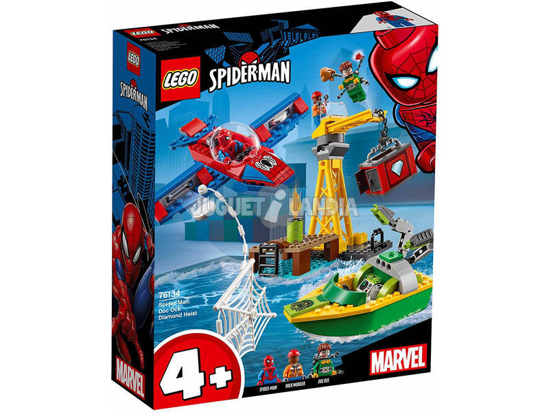 Lego Spider-Man: Doc Ock Diamond Heist 76134