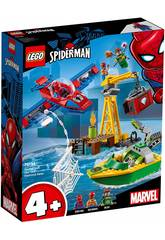 imagen Lego Super Heroes Spiderman Robo de Diamantes de Doc Ock 76134