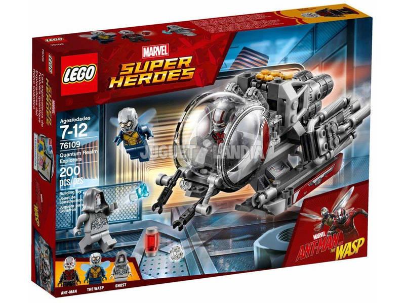 Lego Marvel Super Heroes Esploratori del Regno Quantico 76109