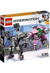 Lego Overwatch D. Va y Reinhardt 75973