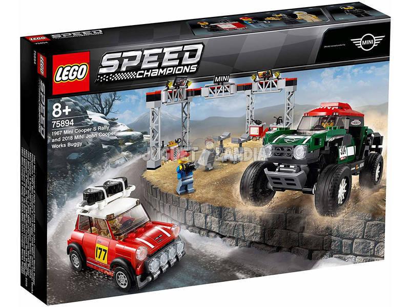 Lego Speed Champions 1967 Mini Cooper S Rally e 2018 MINI John Cooper Works Buggy 75894